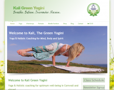 Kali Green Yogini