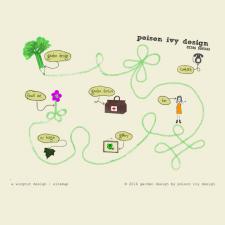 Poison Ivy Garden Design
