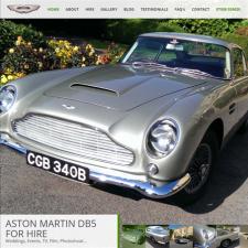 Aston Martin DB5 Hire