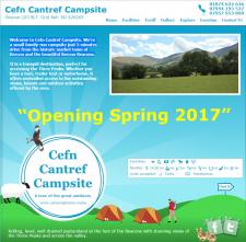 Cefn Cantref Campsite