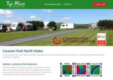 Ty'n Rhos Caravan Park