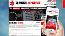 QR Medical ID Products