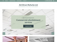 AA Direct Refurbs Ltd Suspended Ceilings Midlands