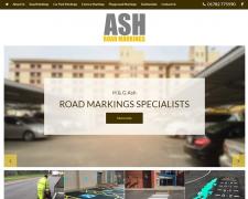 Ash Road Markings