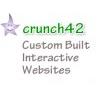 Crunch42 Web Design logo