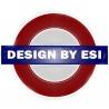 Design by Esi logo