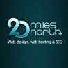 20 Miles North Web Design logo