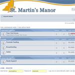 CFSHW St. Martin's Manor Forum